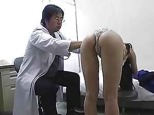 Subtitles Japanese college girls group medical exam
