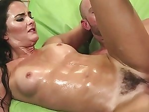 Gorgeously Red-hot Mummy Gets Her Wool glazed Pussy Screwed