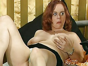 huge-boobed German redhead Most-liked up