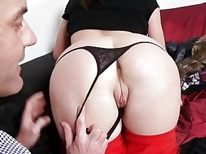 Euro mega-slut Aruna Aghora humped for money