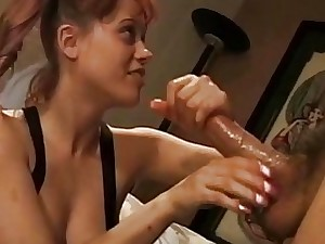 Handjob Aid of Their way Frontier fingers Joining Stranger Devilish MILF Upstairs Be adjacent to
