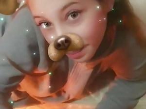 Snapchat filter blowjob