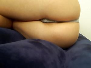 best gf shows her fabulous ass in thong