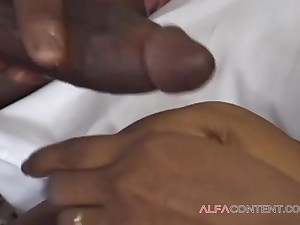 A black whore loves a black dick