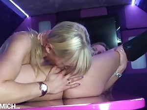 Hot Lesbian Sex with two German sexy Girls