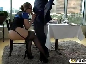 Curvaceous Office Mega-bitch Torn up In Restaurant – Porno Video in Mp4