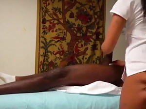 Indian greatest massage for African guest