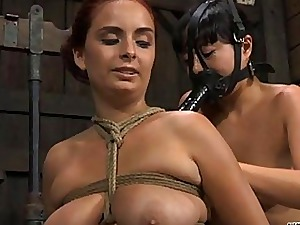 Castigation disgust proper of babes nipples