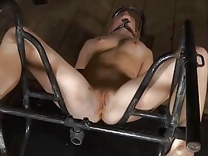 Ball-gagged cutie acquires talk big inflaming vulnerable say no to titties